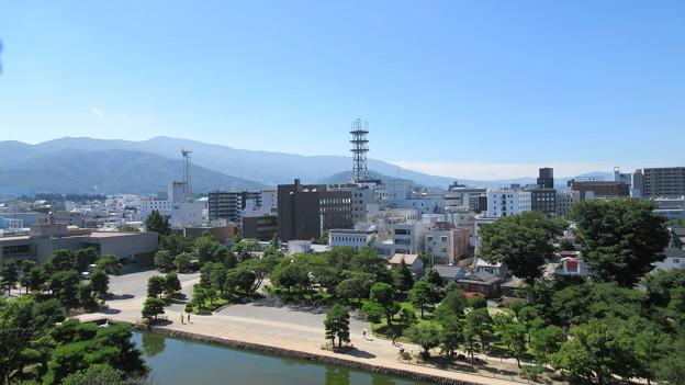 松本城 天守より南東(長野県)