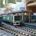 Photos: Nゲージ 国鉄103系+E231系500番台+国鉄205系