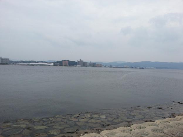 宍道湖から アロハ~(>_<)
