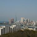 Photos: 愛宕神社(2)百道方面の展望
