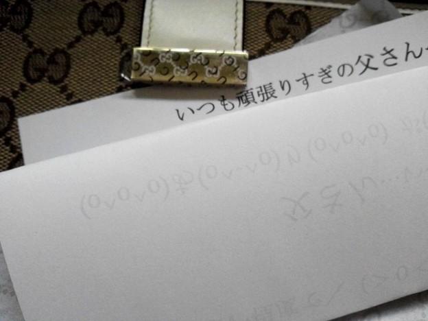 Photos: 父へ