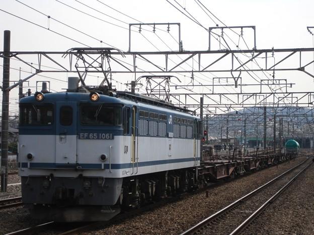 4093レ EF65-1061+コキ+タキ