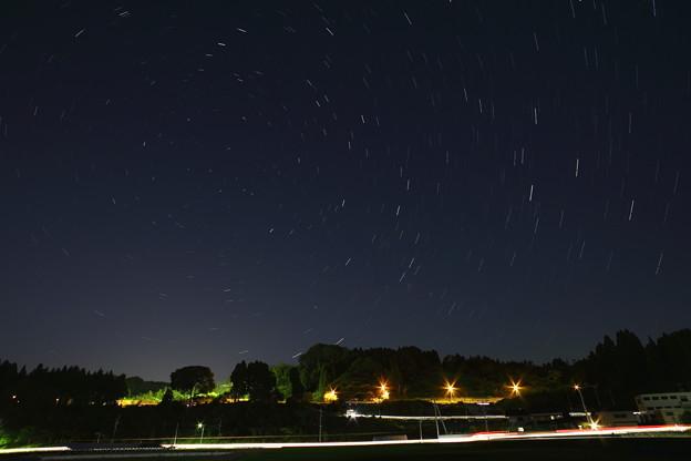 蛍の代わりに 星を撮りました^^