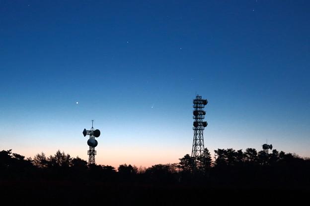 アイソン彗星と水星