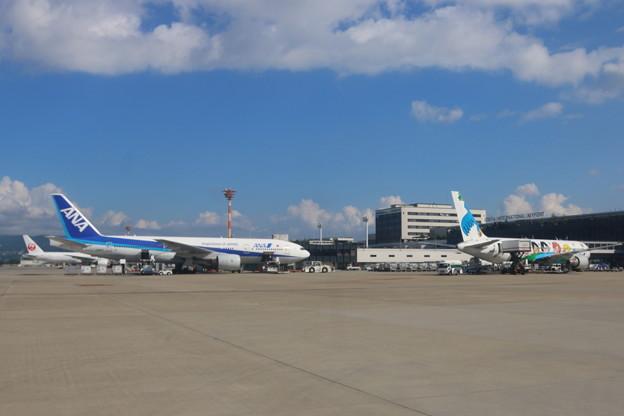 伊丹空港到着(3)