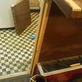 昨日、今日は、結構マジメに松戸のお店の改装作業しました。カウ ンタ...