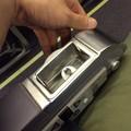 写真: 飛行機の中