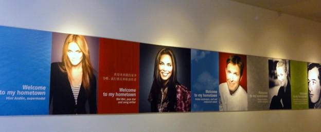 写真: ストックホルム空港で、パチリ~♪