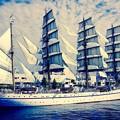 ノスタルジックな風景。。帆船二代目日本丸 5月31日