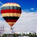 横浜開港祭イベント。。気球で横浜みなとみらいの空へ。。5月31日