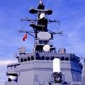 護衛艦たかなみの艦船見学で見るブリッジ。。6月7日