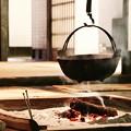 豚汁でも食べたくなる囲炉裏端風景。。川崎市日本民家園6月28日