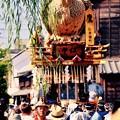 柳と鷹の山車。。夏 佐原の大祭7月11日