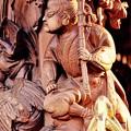 ある山車の木彫り彫刻。。佐原の大祭7月11日