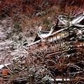 Photos: 箱根湯本の老舗旅館も雪景色・・20150102
