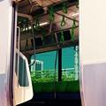 山手線新型E235系は中刷り広告レス。。モニター多く設置。。8月22日