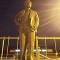 【4月23日・道の駅おおとねへ6】銅像を正面から
