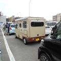 写真: 小木港でみかけた軽のキャンピングカー