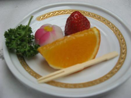 晩御飯デザート