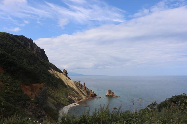 写真: 小樽祝津の海岸