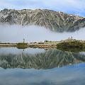 Photos: 鏡みたいな山