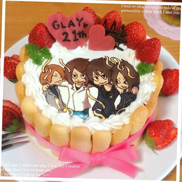 GLAY キャラケーキ