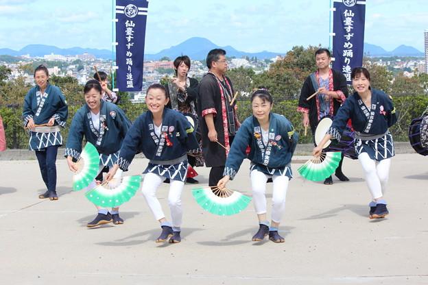 27.9.20柳生祭連の演舞