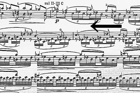 中野・江古田 バイオリン 個人レッスン ヴィオラ 吉瀬弥恵子 ワイズ音楽教室 楽譜をさかさまに読みます