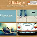 Photos: PicMonkey 簡単 画像 加工 初心者 おすすめ picnik 似てる