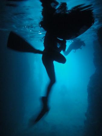 青の洞窟@沖縄