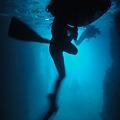 写真: 青の洞窟@沖縄